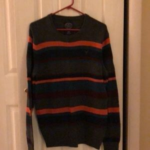 Men's american eagle striped sweater